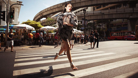 Fashion Shoot Gone Ordinary in a Bangkok That Is Anything But