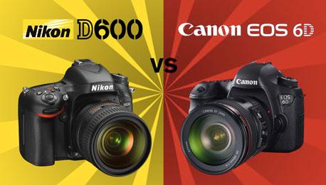 The Nikon D600 vs. Canon 6D File