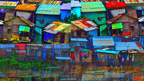 Establishing One's Own Photographic Style — Deconstructing Phnom Penh With Photomontage by David Holliday