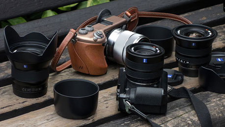 Seen in the Wild: Zeiss Touit Lenses and Hasselblad Lunar Hands-On First Impressions