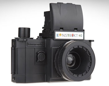 The 35mm do-it-yourself SLR Lomography Konstruktor.