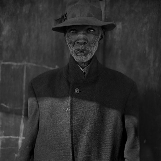 """Old Man"" was taken in 1983 in Ottoshoop, near the border between South Africa and Botswana. Ballen has traveled extensively throughout South Africa's cities and villages for his work. 