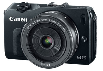 The Canon EOS M makes for a solid compact backup camera. For not even $300 the kit with the nice 22mm F2 prime.