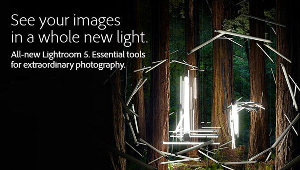 $50 off Adobe Lightroom 5 for a limited time only.