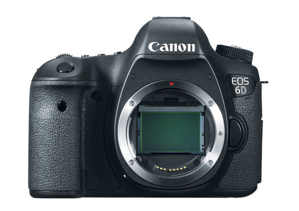 Full-frame affordable as never before: the Canon EOS 6D for $1,499.