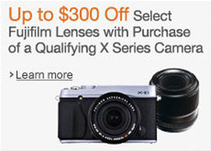 Time to stock up on Fujifilm X series gear.
