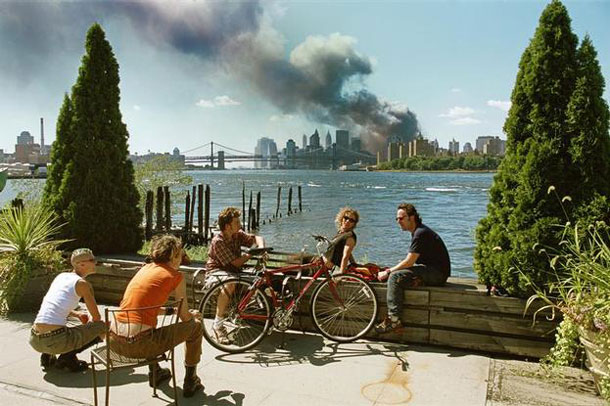 Höpker's probably most famous photo: New York. September 11, 2001. | Thomas Höpker / Magnum Photos
