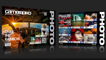 Camerapixo, a good name in photography publishing, is back online after a stylish 1.0 makeover.