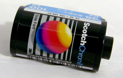 Another comeback of a film: Italian company Ferrania will introduce an improved re-engineered version of Scotch Chrome slide film in 2014.