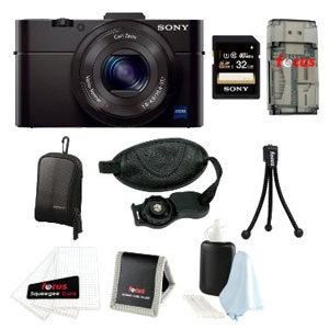 A Sony RX100 Mark II sample bundle for $748.