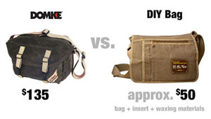 Photographer Allen Mowery explains how to make your own Domke canvas camera bag.