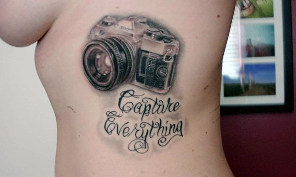Camera tattoos theme for Philosophy tattoos tumblr