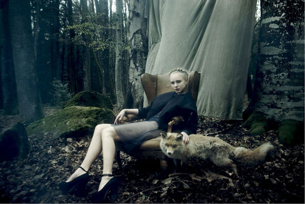 Model & Fox | Maurice Haas