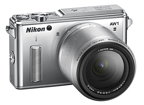 World's first waterproof and shockproof interchangeable lens camera, the Nikon 1 AW1.