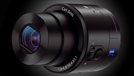 The Sony QX10 and QX100 File