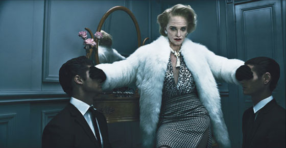 Amber Valetta -- One for the Ages | Steven Klein for W Magazine