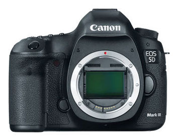 Canon 5D Mark III bundle with speedlite and printer -- $3,999 instead of $5,646...