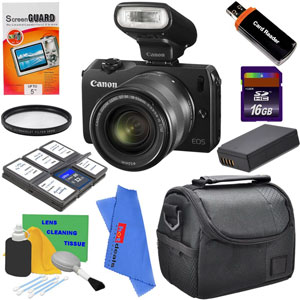 canon eos m bundle Canon EOS M Bundle 50% Down!