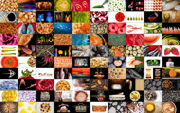 The Photography of Modernist Cuisine Collage