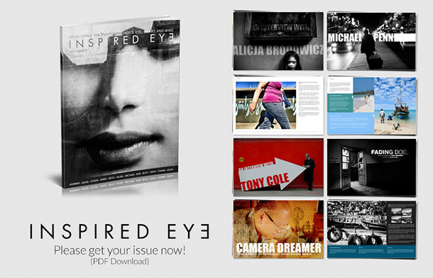 Inspired Eye, the passionate photographer's PDF magazine.