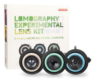 $89 the experimental lens kit for Micro Four Thirds mount -- who wants to complain?