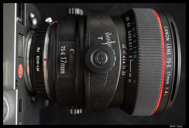 The Canon 17mm F4 TS-E | Dierk Topp