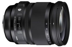 The new versatile Sigma 24-105mm F4 standard zoom.