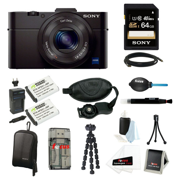 One of the tempting Sony RX100 II Amazon bundles.
