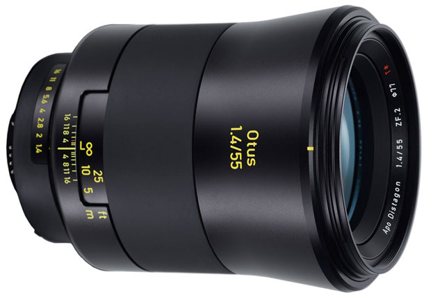The Zeiss Otus 55mm F1.4 Distagon T*