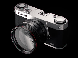 Canon mirrorless concept camera | David Riesenberg