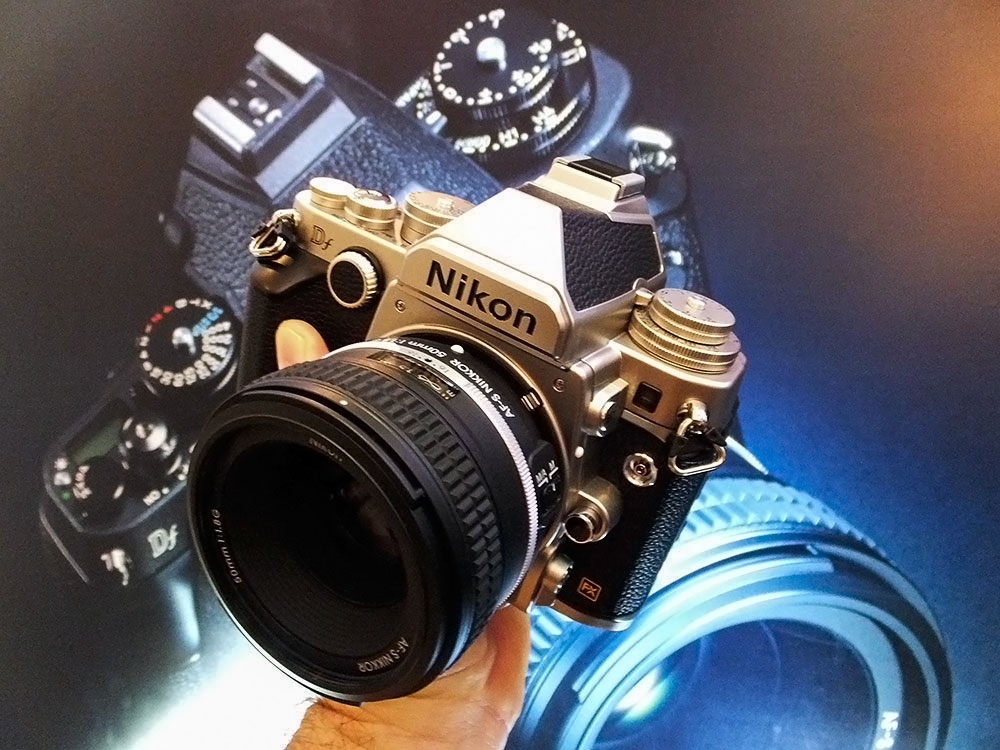 Hands-On With the Retro Nikon Df (f for Fusion)