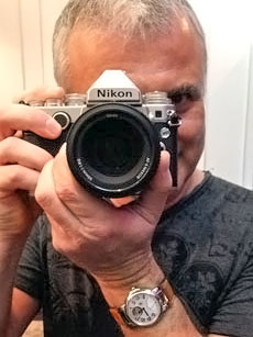 Feeling right at home with the Nikon Df in hand.