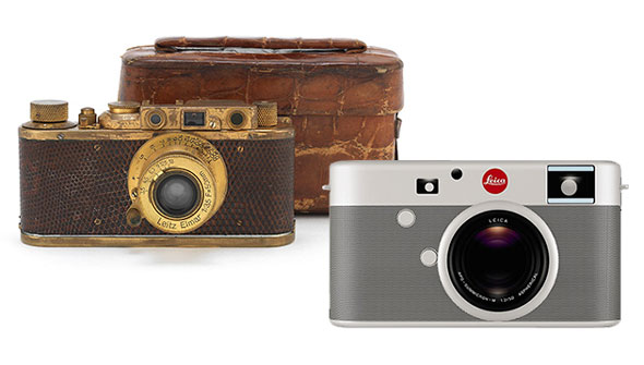 Which one shall it be, a 1932 Leica Luxus II or 2013 Leica RED?