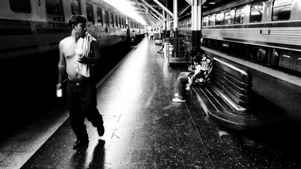 Train Station | Ronn Aldaman