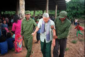 Pol Pot on trial   Nate Thayer