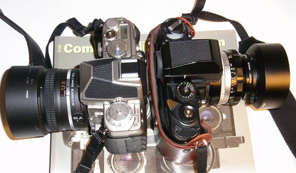 Nikon F3 and Df compared | Brian Sweeney