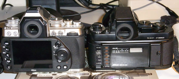 Old-school Nikon SLRs… | Brian Sweeney