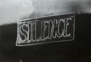 Silence (The Electric Chair) | Christian Marclay