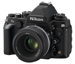 Nikon Df -- spotting some Fujifilm X-T1 similarities, do ya?