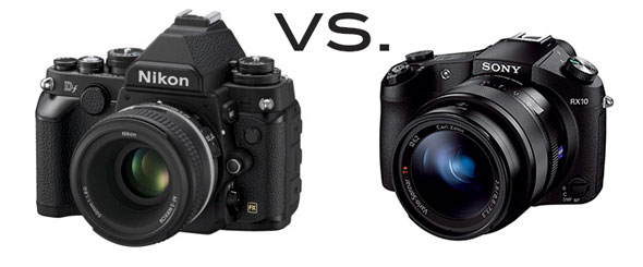 Two kings of their field pitched against each other -- with the Nikon enjoying an obvious advantage...