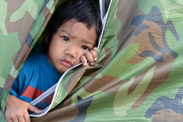 Protester Kid, Bangkok