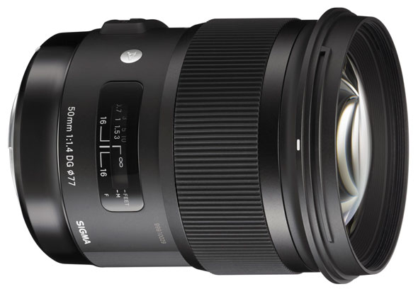The all-new, redesigned Sigma 50mm F1.4 DG HSM standard prime. Expected price point around $900.