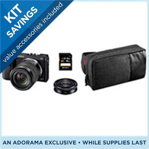 Sony NEX-7 bundle with two lenses and extras for $999.