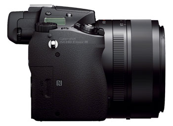 Sony RX10 with its prominent Zeiss 24-200mm F2.8 Vario Sonnar T*