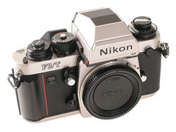 Nikon F3/T Titanium is available on eBay for a few hundred dollars.