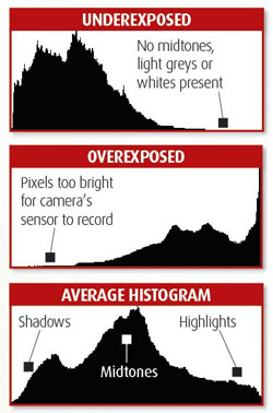 Use your camera's exposure compensation controls to adjust the image's exposure. | roadshooters.com