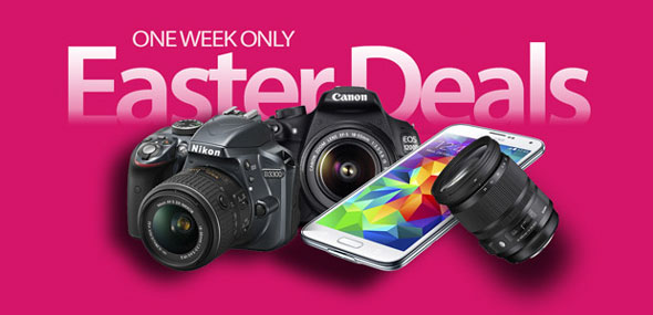 Some very fine Easter camera deals -- limited time only!