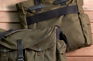 The first two camera bags of the Filson + Magnum collaboration with photographers Steve McCurry and David Allan Harvey.
