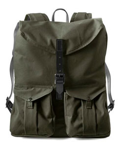 Filson + Magnum backpack in collaboration with Steve McCurry