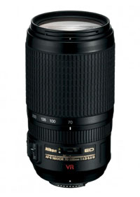 The Nikkor 70-300mm F4.5-5.6G VR's currently a steal...